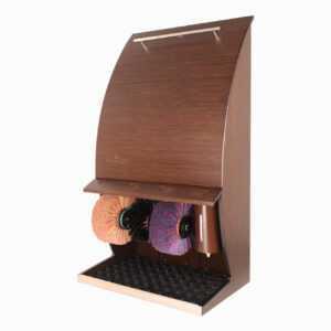 Машинка для чистки обуви Royal Design Wood - Венге