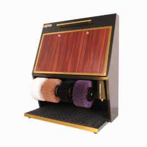 Машинка для чистки обуви Royal LUX 4 Dekor - Черный + Лак Gold