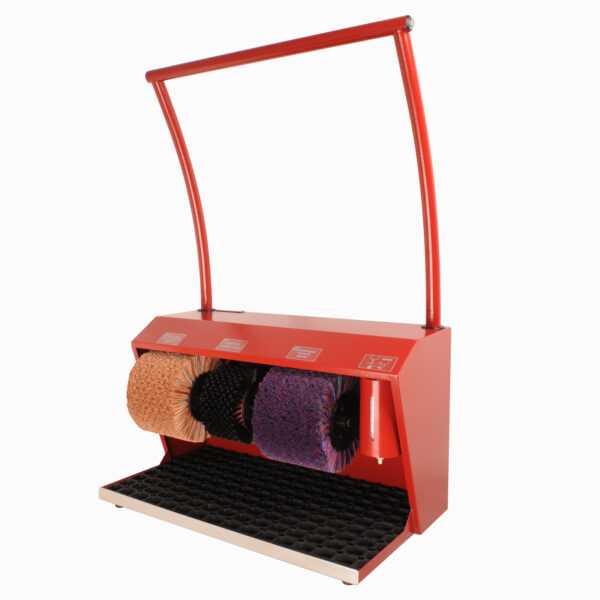 Машинка для чистки обуви Эко Универсал Крем - Бордовый RAL 3011