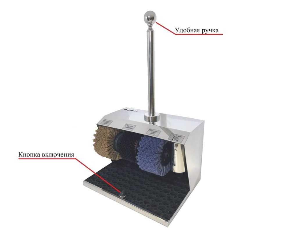 Аппарат для чистки обуви Royal Chrome